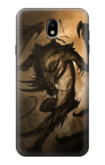Printed Dragon Rider Samsung Galaxy J7 (2018) Case