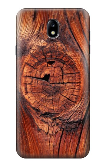 Printed Wood Samsung Galaxy J7 (2018) Case