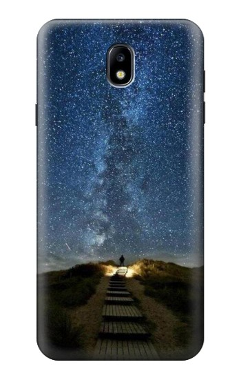 Printed Stairway to Heaven Iceland Samsung Galaxy J7 (2018) Case