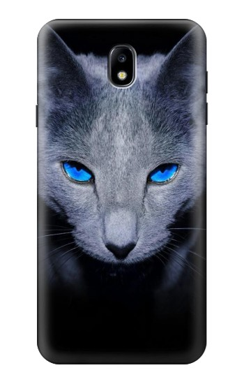 Printed Russian Blue Cat Samsung Galaxy J7 (2018) Case