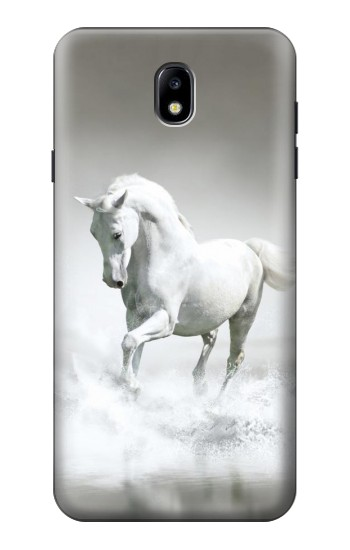 Printed White Horse Samsung Galaxy J7 (2018) Case