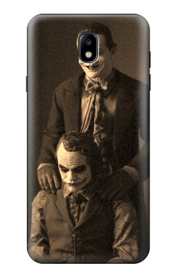 Printed Jokers Together Samsung Galaxy J7 (2018) Case