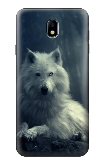 Printed White Wolf Samsung Galaxy J7 (2018) Case
