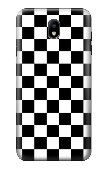 Printed Checkerboard Chess Board Samsung Galaxy J7 (2018) Case