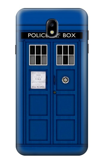 Printed Doctor Who Tardis Samsung Galaxy J7 (2018) Case