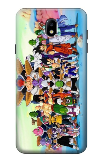 Printed Dragon Ball Z Samsung Galaxy J7 (2018) Case
