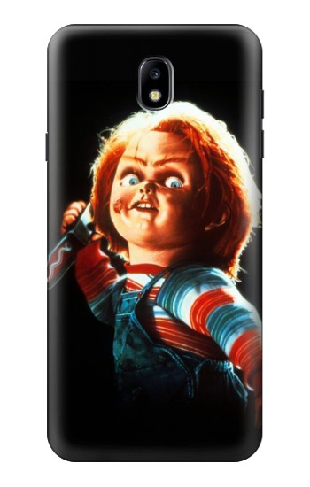 Printed Chucky With Knife Samsung Galaxy J7 (2018) Case