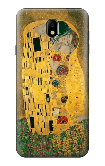 Printed Gustav Klimt The Kiss Samsung Galaxy J7 (2018) Case