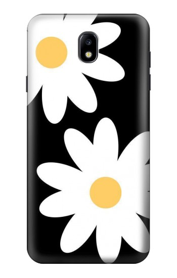 Printed Daisy White Flowers Samsung Galaxy J7 (2018) Case