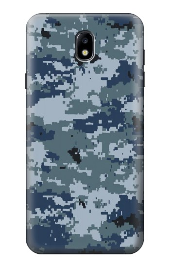 Printed Navy Camo Camouflage Graphic Samsung Galaxy J7 (2018) Case