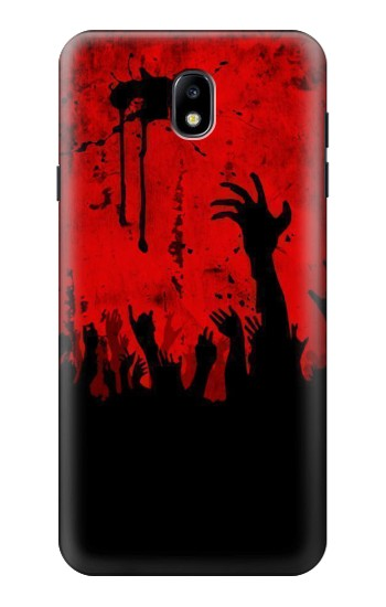 Printed Zombie Hands Samsung Galaxy J7 (2018) Case