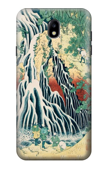 Printed Kirifuri Waterfall at Kurokami Mountain in Shimotsuke Samsung Galaxy J7 (2018) Case