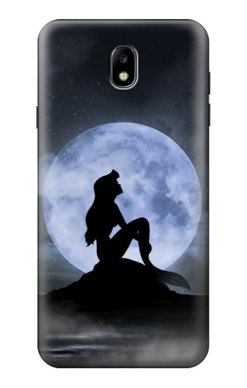 Printed Mermaid Moon Night Samsung Galaxy J7 (2018) Case