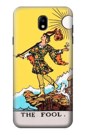 Printed Tarot Card The Fool Samsung Galaxy J7 (2018) Case