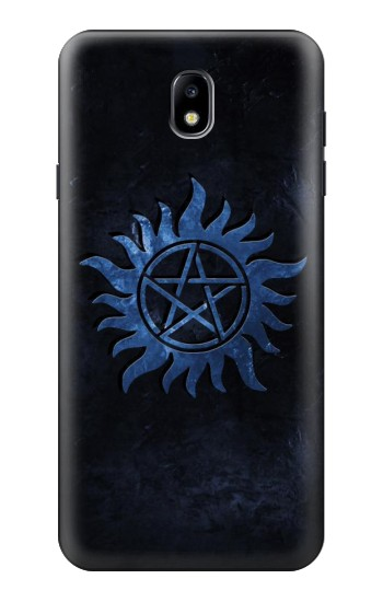 Printed Supernatural Anti Possession Symbol Samsung Galaxy J7 (2018) Case