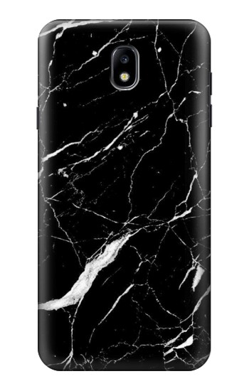 Printed Black Marble Graphic Printed Samsung Galaxy J7 (2018) Case