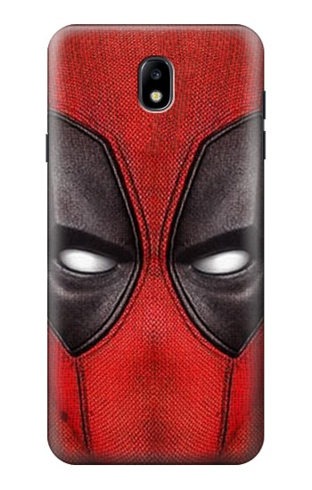 Printed Deadpool Mask Samsung Galaxy J7 (2018) Case