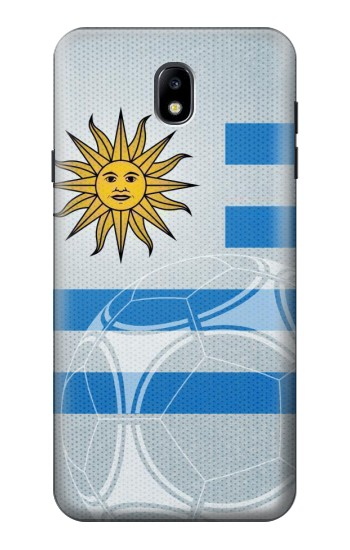 Printed Uruguay Football Flag Samsung Galaxy J7 (2018) Case