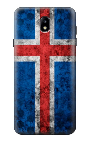 Printed Iceland Football Flag Samsung Galaxy J7 (2018) Case