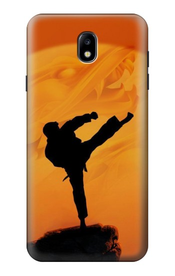 Printed Kung Fu Karate Fighter Samsung Galaxy J7 (2018) Case