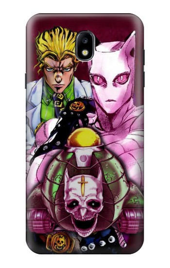 Printed Jojo Bizarre Adventure Kira Yoshikage Killer Queen Samsung Galaxy J7 (2018) Case