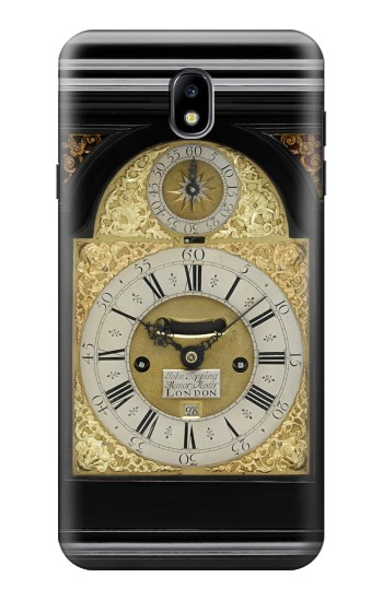 Printed Antique Bracket Clock Samsung Galaxy J7 (2018) Case