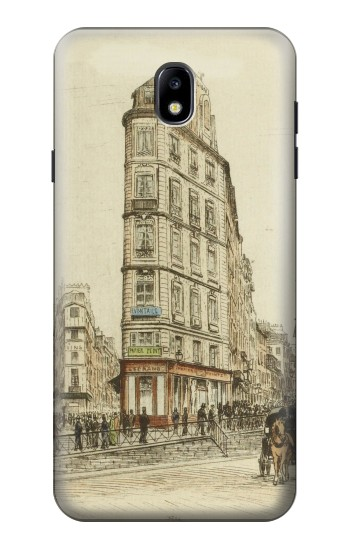 Printed Boulevards of Paris Samsung Galaxy J7 (2018) Case