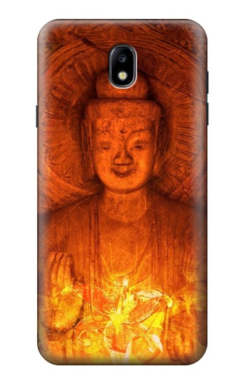 Printed Buddha Spiritual Holy Lights Samsung Galaxy J7 (2018) Case