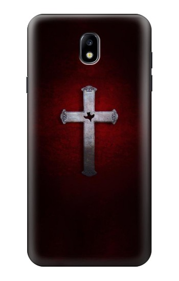 Printed Christian Cross Samsung Galaxy J7 (2018) Case