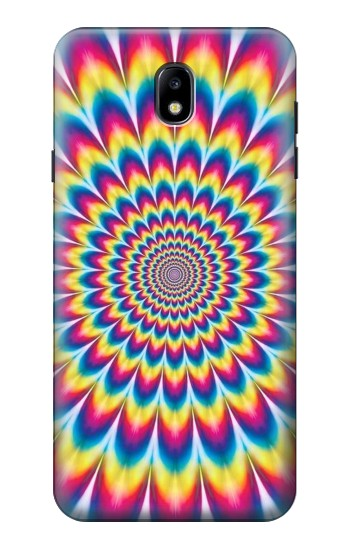 Printed Colorful Psychedelic Samsung Galaxy J7 (2018) Case