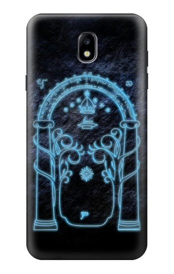 Printed Lord of The Rings Mines of Moria Gate Samsung Galaxy J7 (2018) Case