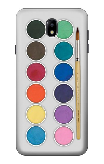Printed Mixing Color Plate Samsung Galaxy J7 (2018) Case