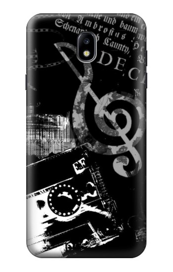 Printed Music Cassette Note Samsung Galaxy J7 (2018) Case