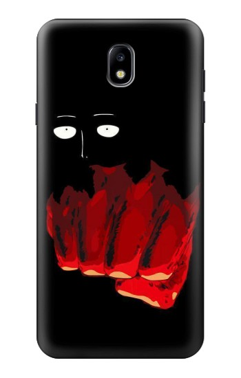 Printed One Punch Man Fight Samsung Galaxy J7 (2018) Case