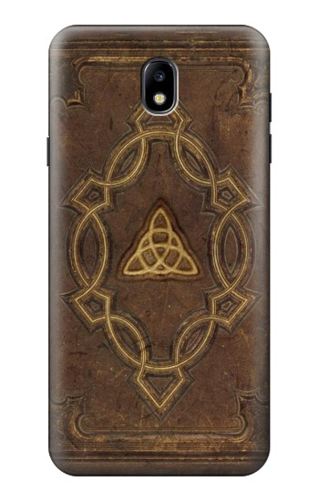 Printed Spell Book Cover Samsung Galaxy J7 (2018) Case