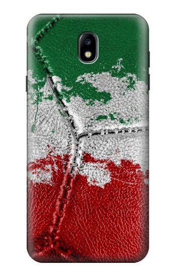 Printed Italy Flag Vintage Football 2018 Samsung Galaxy J7 (2018) Case