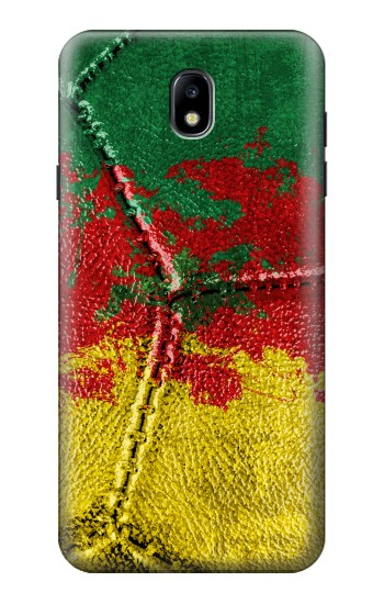 Printed Senegal Flag Vintage Football 2018 Samsung Galaxy J7 (2018) Case