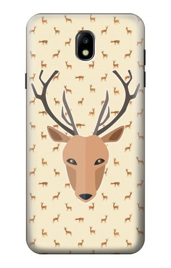 Printed Deer Pattern Samsung Galaxy J7 (2018) Case