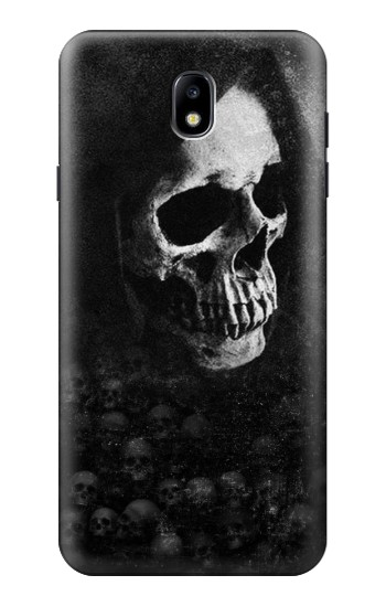 Printed Death Skull Samsung Galaxy J7 (2018) Case