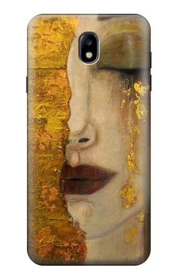 Printed Gustav Klimt Golden Tears Samsung Galaxy J7 (2018) Case
