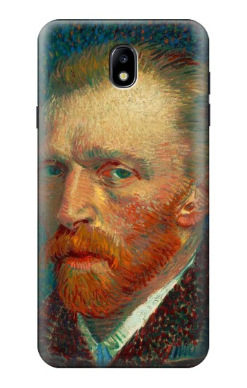 Printed Vincent Van Gogh Self Portrait Samsung Galaxy J7 (2018) Case