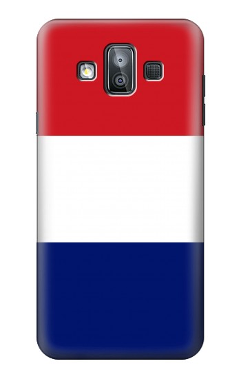 Printed Flag of France and the Netherlands Samsung Galaxy J7 Duo Case