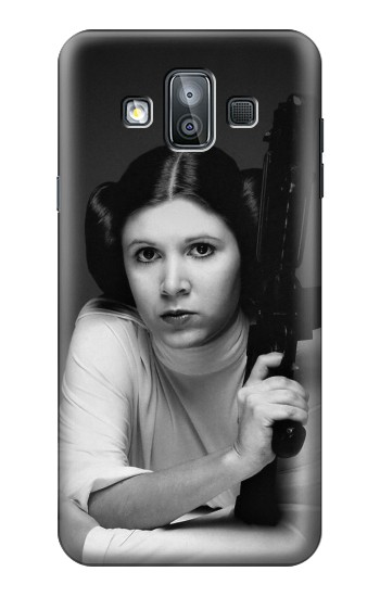 Printed Princess Leia Carrie Fisher Samsung Galaxy J7 Duo Case