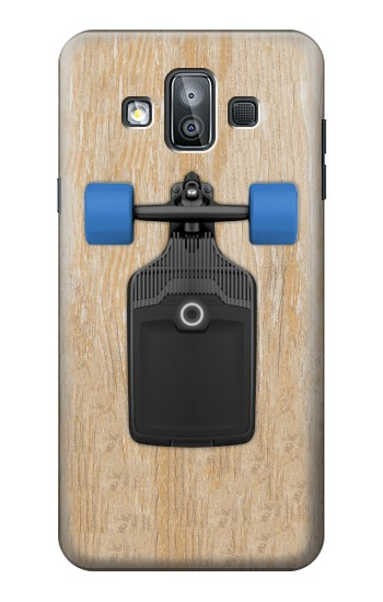 Printed Skateboard Samsung Galaxy J7 Duo Case