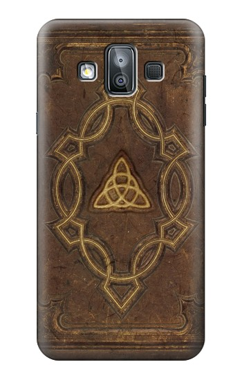 Printed Spell Book Cover Samsung Galaxy J7 Duo Case