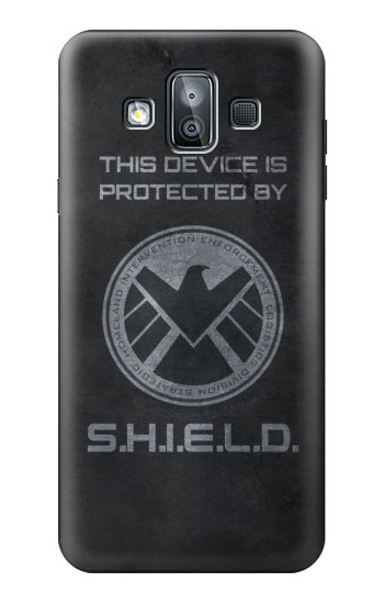 Printed This Device is Protected by Shield Samsung Galaxy J7 Duo Case