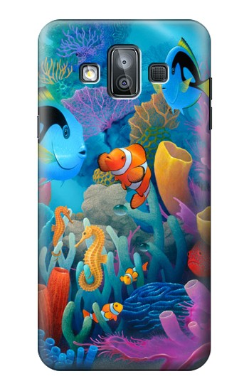 Printed Underwater World Cartoon Samsung Galaxy J7 Duo Case