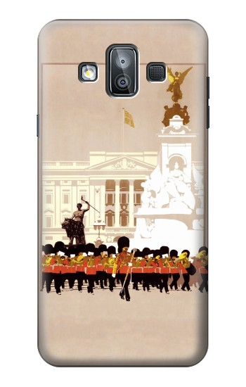 Printed Vintage Travel Brochure London Samsung Galaxy J7 Duo Case