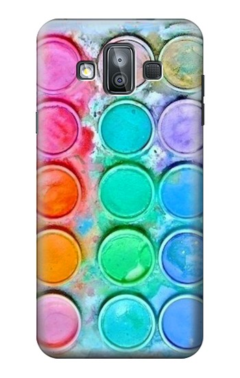 Printed Watercolor Mixing Samsung Galaxy J7 Duo Case