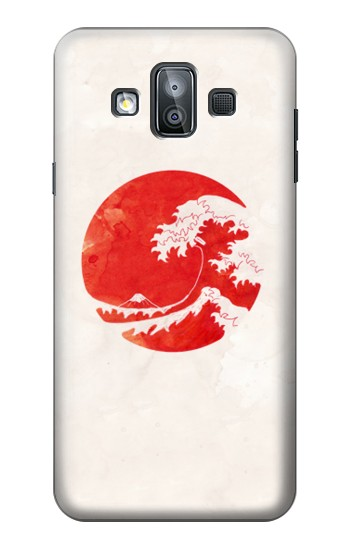 Printed Waves Japan Flag Samsung Galaxy J7 Duo Case